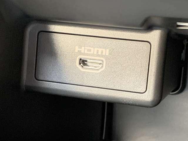 HDMI端子完備!