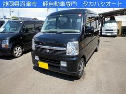 スズキ エブリイワゴン 660 JPハイルーフ 4WD ナビTV バックカメラ ETC パートタイム4駆