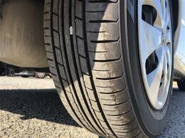 タイヤは安心の国産メーカー品です。前後9部山程度で、状態は良好です。