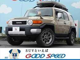 トヨタ FJクルーザー 4.0 オフロードパッケージ 4WD 買取仕入車両 サイバーナビ Rデフロック