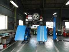 民間車検認証工場完備!!全車点検整備納車です!!