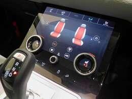 メーカーオプションの【タッチプロ・デュオ】を装備しこちらも液晶ディスプレイになっています。 メーカーオプションの【シートヒーター】も装備しています。