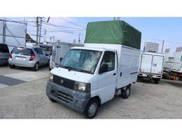 日産 クリッパートラック 660 パネルバン 両側スライドドア 幌車 庫内2m 軽運送