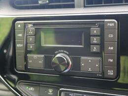CD・ラジオの再生が可能です☆ナビへのお取替えもご相談ください!