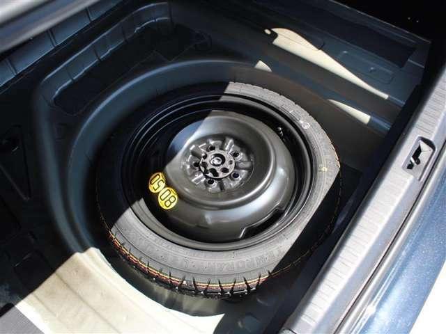 スペアタイヤ付!パンク修理キットが不安な方、ご検討お願い致します!