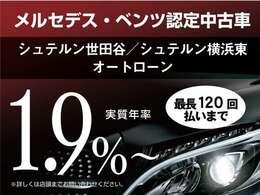 【実質年率1.9%!残価設定可能!】