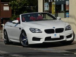 BMW M6 カブリオレ 4.4 2オーナー禁煙 D車 赤レザー 黒幌 右H