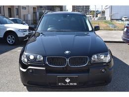 BMW X3 2.5i 4WD 1オーナー サンルーフ  社外ナビBカメラ