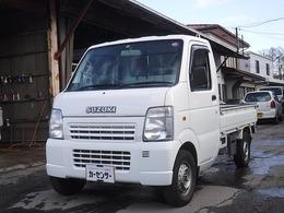 スズキ キャリイ 660 KCエアコン・パワステ 3方開 4WD 5速マニュアル 車検令和3年9月