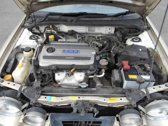 エンジン部分になります。