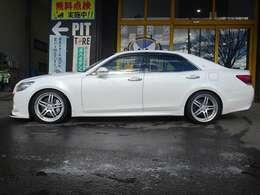 SALE価格!全長式車高調にてローダウン済!お好みの車高でご納車致します。