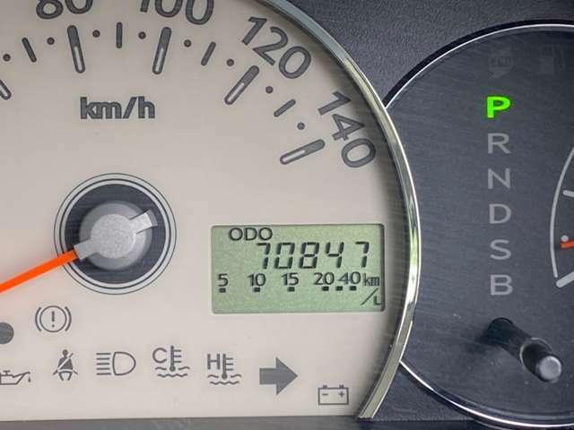 走行は僅か7万KM!
