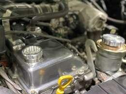 どうですか?この綺麗に仕上がったエンジン!