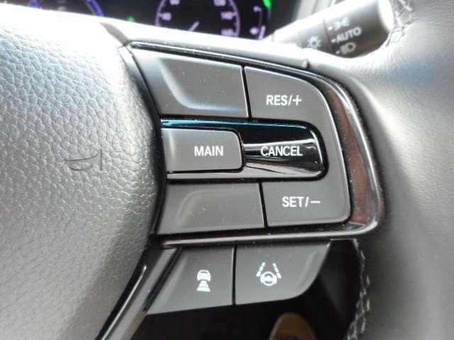 ホンダセンシング装備!高速道路~市街地まで、お客様の安全をサポートします♪クルコン&レーンキープ&追突軽減ブレーキ&6エアバックのセットです!