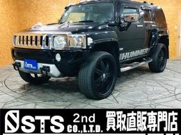 ハマー H3 3.7 4WD ディーラー車サンルーフ社外ナビ 社外24AW