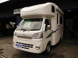 ダイハツ ハイゼットトラック SAIII キャンピング 4WD JPスター 2000Wインバーター