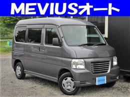 ホンダ バモスホビオバン 660 プロ 4WD 5MT・エアコン・関東仕入れ・キーレス