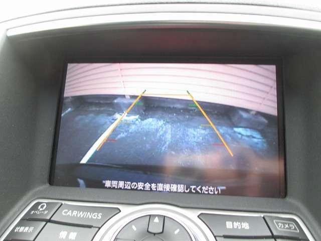 バックカメラ装備で車庫入れの苦手な方には楽々バックできます