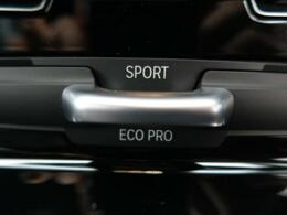 ●ドライビング・パフォーマンス・コントロール:極めて快適な乗り心地を約束する「コンフォート」モード、効率性を重視した「ECO PRO」モード、ダイナミックな走りを可能にする「スポーツ」モードの選択が可
