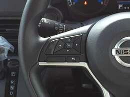 ◆ステアリングスイッチ◆運転中にナビ、オーディオの操作が可能です