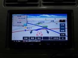【ナビゲーション】ケンウッドナビ(MDV-X70Z)を装備しております♪インパネ内にスッキリとビルトイン装着されておりますので、運転時に視界の妨げになる事もありませんよ♪