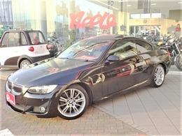 BMW 3シリーズクーペ 335i Mスポーツパッケージ 黒皮 サンルーフ クリアランスソナー