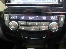 オートエアコン付きです☆温度を設定すれば自動で調節してくれます♪
