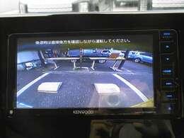 バックカメラも付いていて駐車も安心です!
