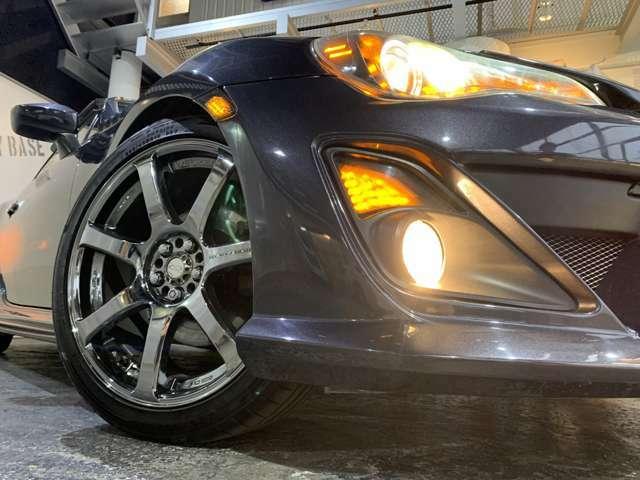 Avestウィンカー☆クリスタルアイヘッドライト☆WORK18インチAW☆タイヤサイズ225/40ZR18☆タイヤやホイールの変更(有料)も可能ですのでお気軽にご相談ください!