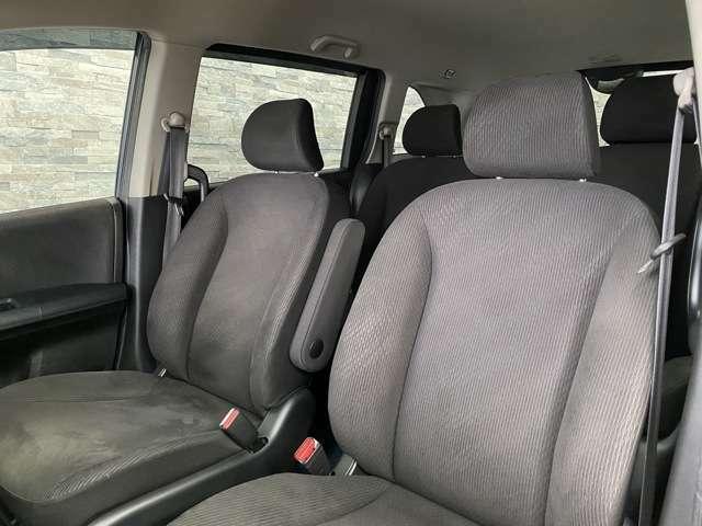 座り心地の良いシートが採用されています。