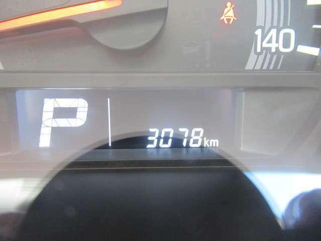 走行距離3078km