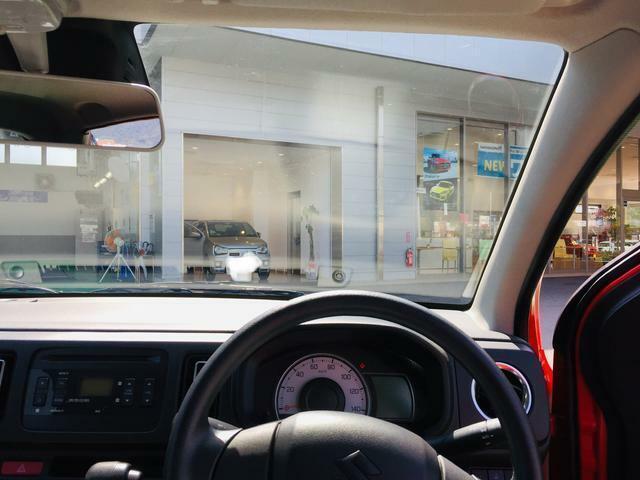 運転席からの見晴らしもいいですよ。