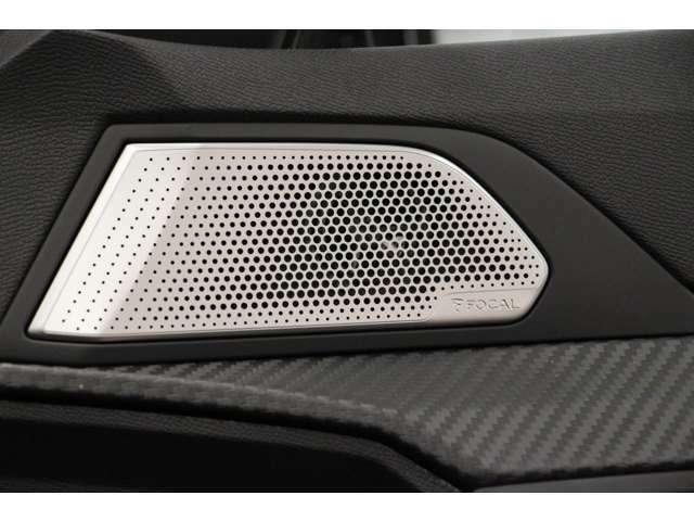 フランスのオーディオメーカー「フォーカル」のスピーカー搭載です。音質の良さを是非体験してください!