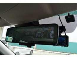 先進安全パッケージ付(デジタルルームミラー&アラウンドモニター)で、バックも安心です。