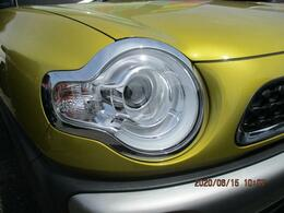 明るいLEDヘッドランプを装備!