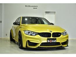 BMW M3セダン M DCT ドライブロジック カーボンリップスポイラー シートヒーター