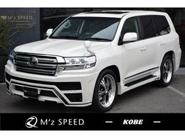 トヨタ ランドクルーザー200 4.6 AX Gセレクション 4WD サンルーフ ZEUS新車コンプリートカー