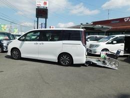 トヨタ エスクァイア 2.0 Xi ウェルキャブ スロープタイプ タイプII サードシート付 スローパー車いす1基 ナビテレビ 福祉車両