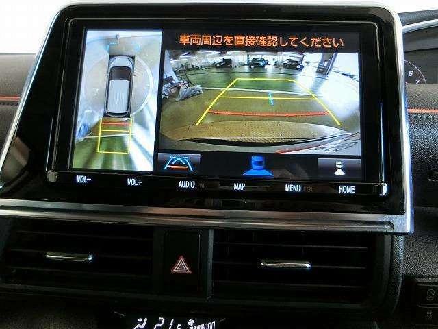 【バックモニター】後退時に車両の後ろ側をモニター画面に表示してくれます♪車庫入れなどでバックする際に後方が確認できるので便利です!車庫入れが苦手な方もこれで安心です♪
