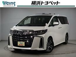 トヨタ アルファード 2.5 S Cパッケージ 5008km サンルーフ 10型SDナビ 衝突軽減S