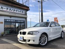 BMW 1シリーズ 116i Mスポーツパッケージ ハーフレザー バックカメラ ETC 社外ナビ