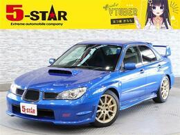 スバル インプレッサSTI 2.0 WRX 4WD 6速MTバケットS柿本マフラ車高調エアロ