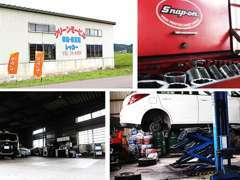 お客様のお車は当店の工場で大切に整備いたします!安心をお届けいたします(^_^)v