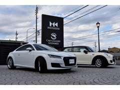 輸入車を中心に高品質車のみを取り揃えております。