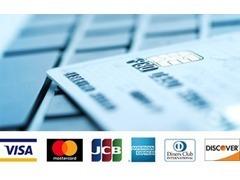クレジットカード決済も各種取り扱っております!詳しくはスタッフまでお問合せ下さい♪
