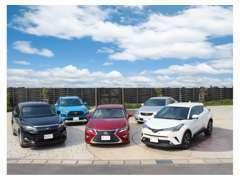 国産から輸入車まで新車・中古車・商用車扱っております。当社の中古車はシンメイオリジナルの保証が付帯(一部除外あり)