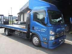 自社回送車による回送。事故、路上トラブル時にも対応致します。