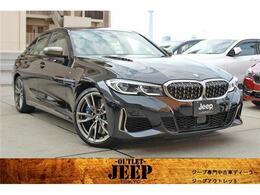 BMW 3シリーズ M340i xドライブ 4WD ワンオーナー 革 SR ナビ TV 保証継承付
