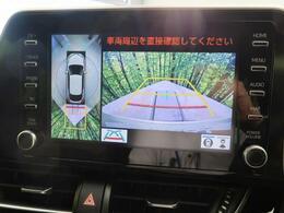 【パノラマビューモニター】空の上から見下ろすような視点で駐車が可能☆前後左右の状況を把握でき、安心して駐車が可能です!