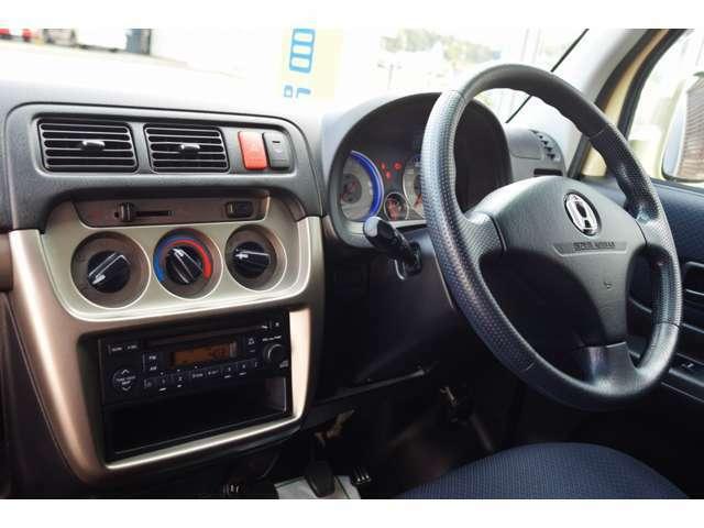 145R12インチタイヤ 禁煙車 エアバッグ ABS リアヒーター 3本スポークステアリング